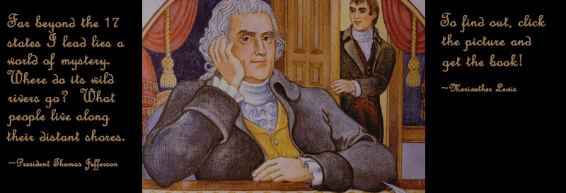 Thomas Jefferson and Meriwether Lewis